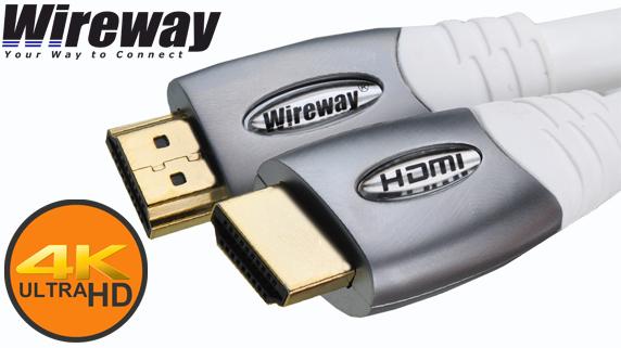 Instalacyjny Kabel HDMI 2.0 WireWay Instaline UltraHD 4K
