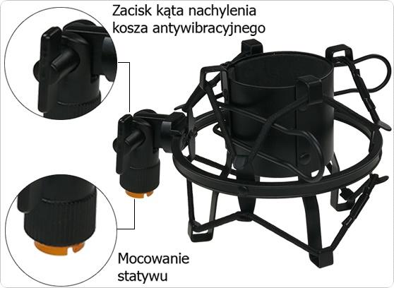 filtr + kosz + tripod - cecha 2